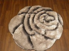 Area Rug Home 3D Rose Design Small Living Room Bedroom FloorMat New Greys Nice